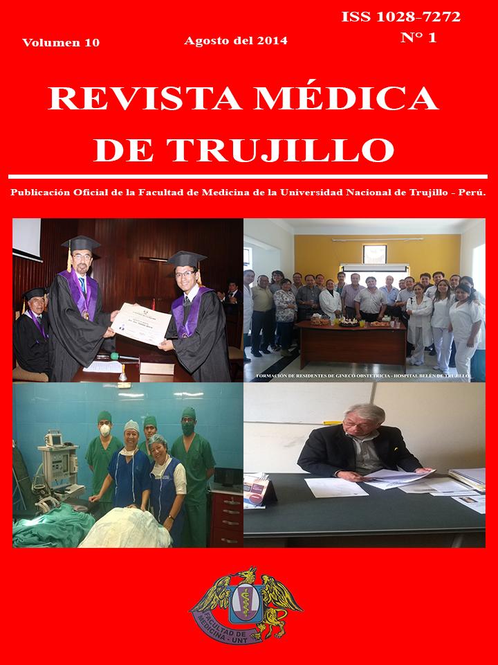 Ver Vol. 10, Num. 1 (2014): Revista Médica de Trujillo