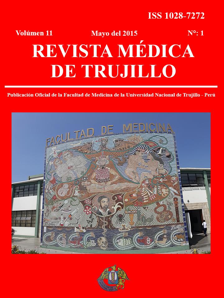 Ver Vol. 11 Núm. 2 (2015): Vol. 11, Num. 2 (2015): Revista Médica de Trujillo