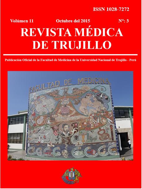 Ver Vol. 11 Núm. 3 (2015): Revista Medica de Trujillo