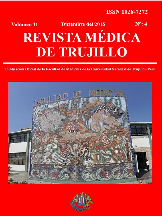 Ver Vol. 11 Núm. 4 (2015): Revista Médica de Trujillo
