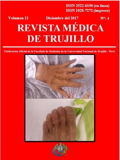 Ver Vol. 12 Núm. 4 (2017): REVISTA MÉDICA DE TRUJILLO