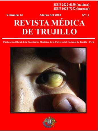 Ver Vol. 13 Núm. 1 (2018): REVISTA MÉDICA DE TRUJILLO