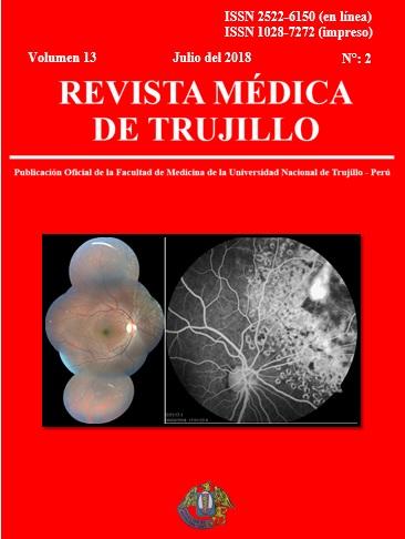 Ver Vol. 13 Núm. 2 (2018): REVISTA MÉDICA DE TRUJILLO