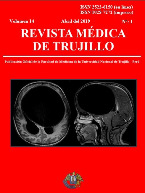 Ver Vol. 14 Núm. 1 (2019): REVISTA MÉDICA DE TRUJILLO