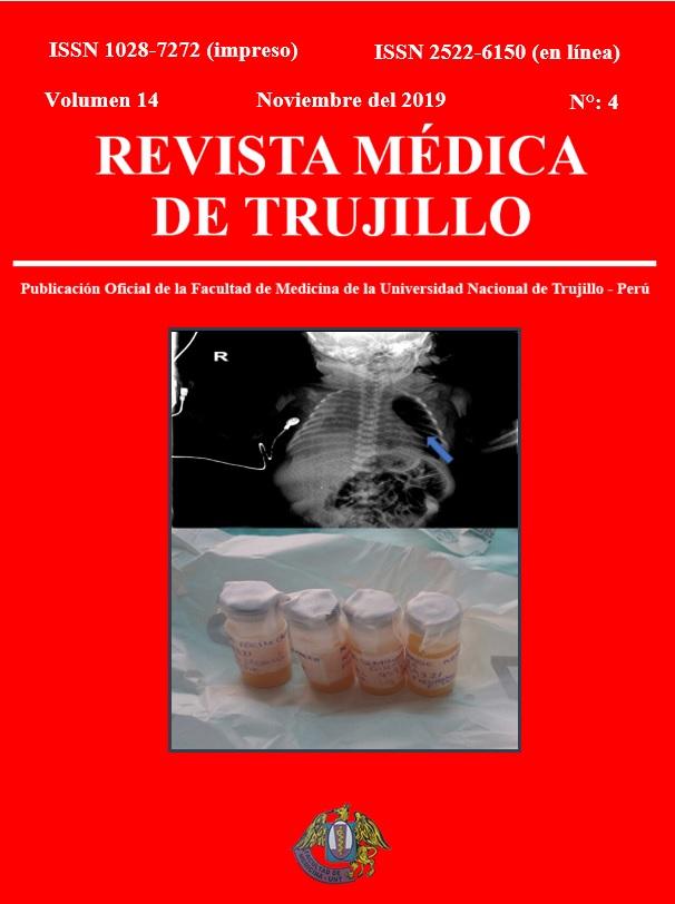 Ver Vol. 14 Núm. 4 (2019): REVISTA MÉDICA DE TRUJILLO
