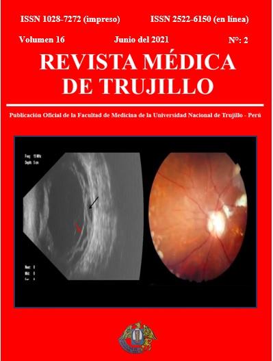 Ver Vol. 16 Núm. 2 (2021): REVISTA MÉDICA DE TRUJILLO