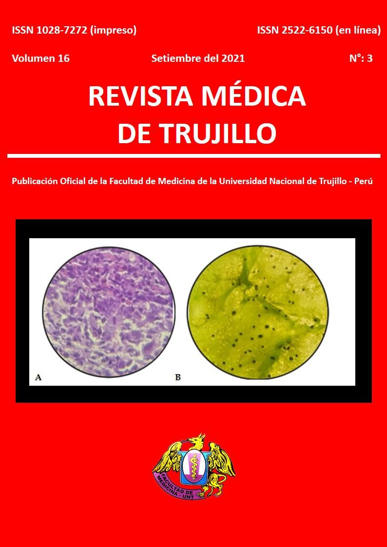 Ver Vol. 16 Núm. 3 (2021): REVISTA MÉDICA DE TRUJILLO