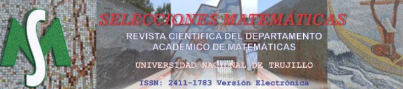 Revista Selecciones Matemáticas